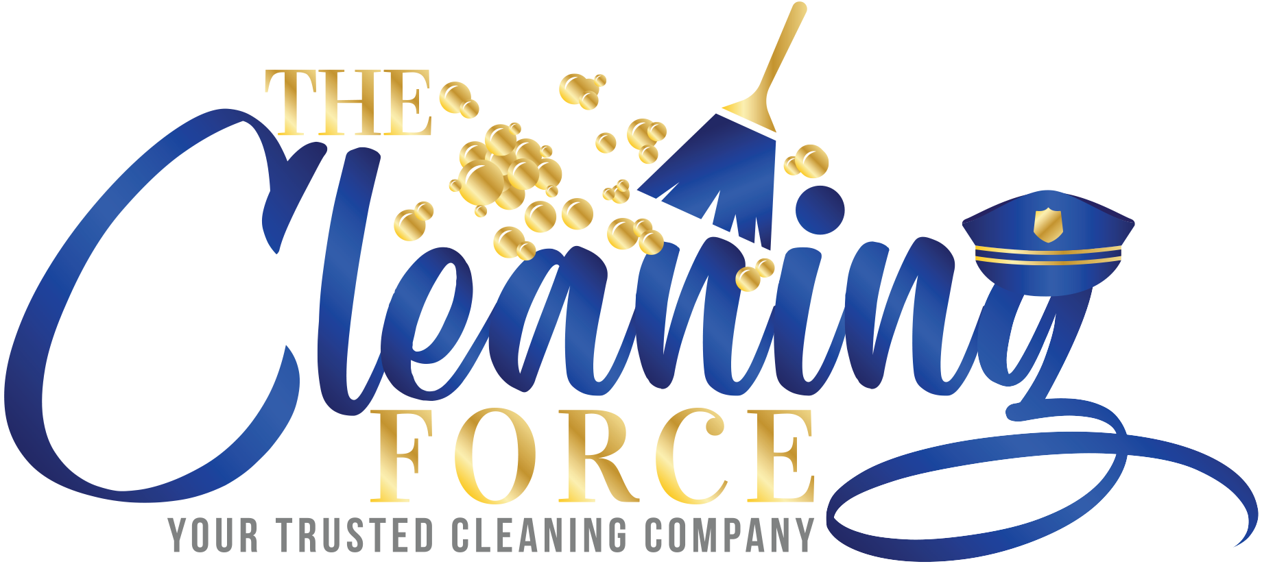 The Cleaning Force Logo