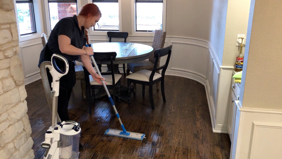 how we clean hardwood floors