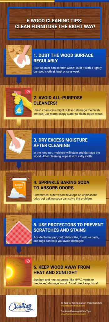 6 Wood Cleaning Tips: Clean Furniture The Right Way!