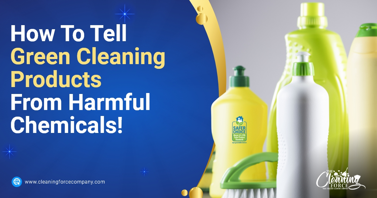 How To Tell Green Cleaning Products From Harmful Chemicals!